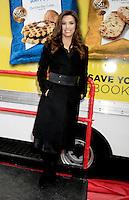 Eva Longoria promotes Lays Potato - New York