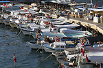 Images of Turkey. ANTALYA. Boats in the bay