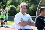 15 October 2016: Florida State head coach Mark Krikorian. The North Carolina State University Wolfpack hosted the Florida State University Seminoles at Dail Soccer Field in Raleigh, North Carolina in a 2016 NCAA Division I Women's Soccer match. FSU won the game 1-0.