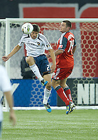 07 March 2012: LA Galaxy defender Andrew Boyens #29 and Toronto FC forward Danny Koevermans #14 in action during a CONCACAF Champions League game between the LA Galaxy and Toronto FC at the Rogers Centre in Toronto..The game ended in a 2-2 draw.