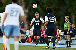 30 August 2013: Monmouth's Derek Luke (24). The University of North Carolina Tar Heels hosted the Monmouth University Hawks at Fetzer Field in Chapel Hill, NC in a 2013 NCAA Division I Men's Soccer match. UNC won the game 1-0 in two overtimes.