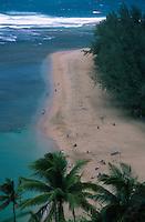 Ke'e Beach, Kauai, Hawaii, US