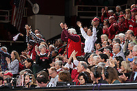Stanford, CA - January 22, 2017: Stanford wins 66-56 over Arizona State at Maples Pavilion.