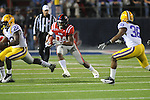 Ole Miss' Brandon Bolden (34) vs. LSU at Vaught-Hemingway Stadium in Oxford, Miss. on Saturday, November 19, 2011..