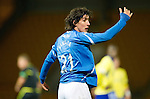 St Johnstone v Kilmarnock..28.12.11   SPL .Fran Sandaza appeals.Picture by Graeme Hart..Copyright Perthshire Picture Agency.Tel: 01738 623350  Mobile: 07990 594431