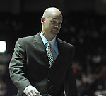 "Mississippi head coach Andy Kennedy reacts vs. East Tennessee State at the C.M. ""Tad"" Smith Coliseum in Oxford, Miss. on Saturday, December 14, 2012.  (AP Photo/Oxford Eagle, Bruce Newman).."