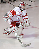 Kerrin Sperry (BU - 1) - The Northeastern University Huskies tied Boston University Terriers 3-3 in the 2011 Beanpot consolation game on Tuesday, February 15, 2011, at Conte Forum in Chestnut Hill, Massachusetts.