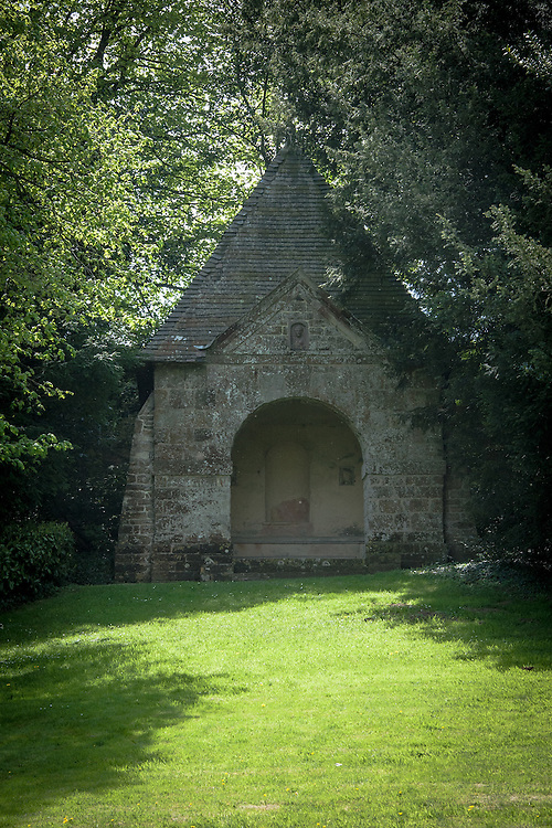 Pyramid, by William Kent (1720) Rousham House and Garden.