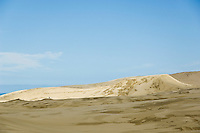 Te Paki sand dunes at the northern end of 90 mile beach, New Zealand