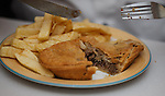 A Forres Steak Pie. A solid 7/10 for this specimen only let down by the slightly soggy pastry. Big pie for the price though.