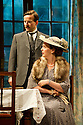 """Bath, Avon, UK. 25/07/2011. """"This Happy Breed"""", by Noel Coward and directed by Stephen Unwin, opens in the Peter Hall Season at Theatre Royal Bath. Dean Lennox Kelly as Frank Gibbons and Rebecca Johnson as his wife. Photo credit: Jane Hobson"""