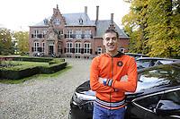 SCHAATSEN: YSBRECHTUM, 23-10-2015, Team4Gold perspresentatie, Jeroen de Vos, ©foto Martin de Jong