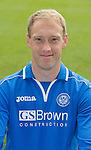 St Johnstone FC 2013-14<br /> Steven Anderson<br /> Picture by Graeme Hart.<br /> Copyright Perthshire Picture Agency<br /> Tel: 01738 623350  Mobile: 07990 594431