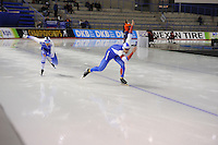 SPEEDSKATING: CALGARY: Olympic Oval, 25-02-2017, ISU World Sprint Championships, 500m Men, Mika Poutala (FIN), Ruslan Murashov (RUS), ©photo Martin de Jong