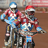 Davey Watt of Lakeside Hammers - Lakeside Hammers vs Swindon Robins at the Arena Essex Raceway, Pufleet - 18/06/12 - MANDATORY CREDIT: Rob Newell/TGSPHOTO - Self billing applies where appropriate - 0845 094 6026 - contact@tgsphoto.co.uk - NO UNPAID USE..