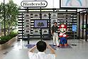 Nintendo's game character Super-Mario