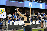 San Jose, CA - Saturday May 06, 2017: Jahmir Hyka after a Major League Soccer (MLS) match between the San Jose Earthquakes and the Portland Timbers at Avaya Stadium.