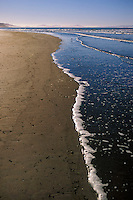 California, Stinson Beach, Early morning on the beach