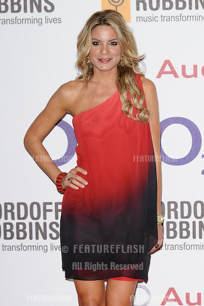 Charlotte Jackson arriving for the Nordoff Robbins Silver Clef Awards 2012, London. 29/06/2012 Picture by: Steve Vas / Featureflash