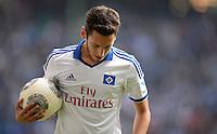 FUSSBALL   1. BUNDESLIGA   SAISON 2013/2014   4. SPIELTAG Hamburger SV - Eintracht Braunschweig                  31.08.2013 Hakan Calhanoglu (Hamburger SV)