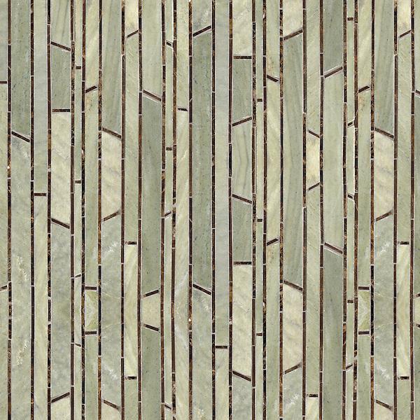 Bamboo Stone Mosaic New Ravenna