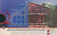 Maxwell House, couple in vacation home