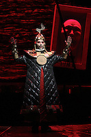 Seattle Opera Turandot Gold Cast Dress  Ashref Sewailam (Mandarin).