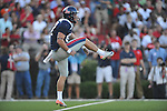 Ole Miss' Tyler Campbell (97) punts vs. Alabama at Vaught-Hemingway Stadium in Oxford, Miss. on Saturday, October 14, 2011. Alabama won 52-7.