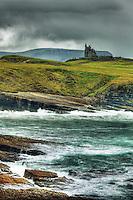 Classiebawn Castle on Mullaghmore Head, County Sligo, Republic of Ireland