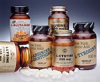 AMINO ACID SUPPLEMENTS<br /> L-Lysine, L-Glutamine, L-Arginine, L-Ornithine, Taurine, L-Cystine &amp; L-Tyrosine.