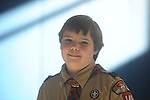 Boy Scout Carter Diggs on Tuesday, February 9, 2010, in Oxford, Miss.