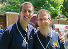 May 31, 2014; Jack Vales '94, '97 J.D. and Tim O'Neill '94 were freshman year roommates in Keenan Hall. Photo by Matt Cashore/University of Notre Dame