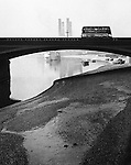 MODERN SILVER GELATIN PRINT.NUMBERED ON REVERSE.18 X 14 1/2 INCHES.FROM AN EDITION OF 35.ILLUSTRATED:.BILL BRANDT, SHADOW OF LIGHT..A COLLECTION OF PHOTOGRAPHS FROM 1931 TO THE PRESENT,.WITH AN INTRODUCTION BY CYRIL CONNOLLY AND NOTES BY.MARJORIE BECKETT, LONDON: THE BODLEY HEAD, 1966,.PLATE 10, AS 'BATTERSEA BRIDGE';.BILL BRANDT, SHADOW OF LIGHT,.INTRODUCTIONS BY CYRIL CONNOLLY AND MARK.HAWORTH-BOOTH, LONDON: GORDON FRASER, 1977,.PLATE 1, AS 'BATTERSEA BRIDGE';.BILL BRANDT, LONDON IN THE THIRTIES,.LONDON: GORDON FRASER, 1983, PLATE 39,.AS 'BATTERSEA BRIDGE'