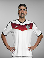 FUSSBALL   PORTRAIT TERMIN DEUTSCHE NATIONALMANNSCHAFT 24.05.2014 Sami Khedira (Deutschland)