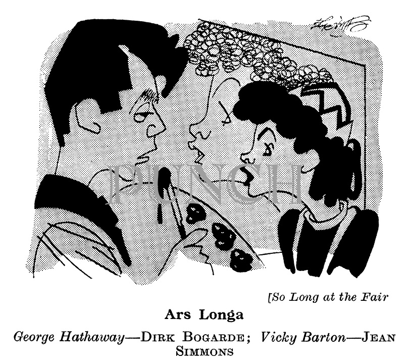 So Long at the Fair ; Dirk Bogarde and Jean Simmons