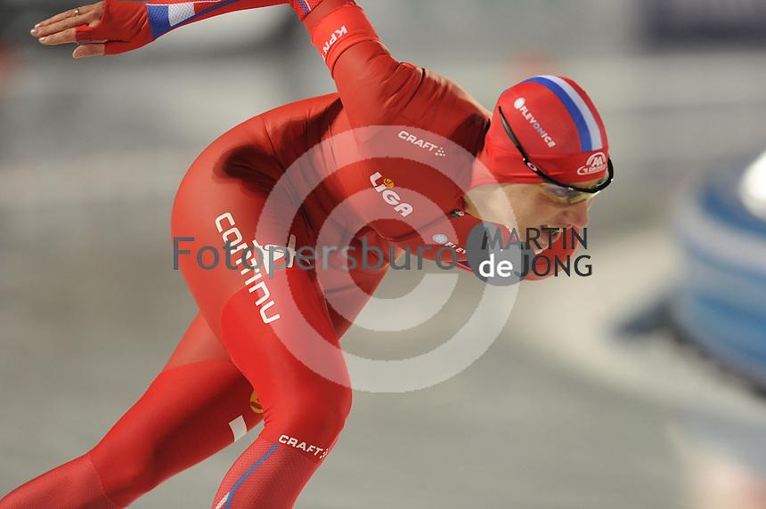 SCHAATSEN: AMSTERDAM: Olympisch Stadion, 01-03-2014, KPN NK Sprint/Allround, Coolste Baan van Nederland, Jorien Voorhuis, ©foto Martin de Jong