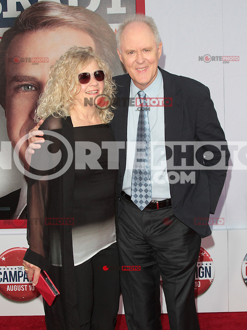 HOLLYWOOD, CA - AUGUST 02: John Lithgow at the 'The Campaign' film premiere at Grauman's Chinese Theatre on August 2, 2012 in Hollywood, California. &copy;&nbsp;mpi21/MediaPunch Inc. /NortePhoto.com<br />