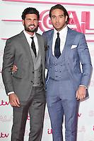 LONDON, UK. November 24, 2016: Dan Edgar &amp; James Locke at the 2016 ITV Gala at the London Palladium Theatre, London.<br /> Picture: Steve Vas/Featureflash/SilverHub 0208 004 5359/ 07711 972644 Editors@silverhubmedia.com