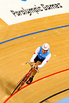 LONDON, ENGLAND /08/2012 - Arnold Boldt competes in the Men's Individual Time Trial during the London 2012 Paralympic Games at the Velodrome. (Photo: Phillip MacCallum/Canadian Paralympic Committee)