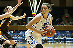 23 November 2012: Duke's Haley Peters (33). The Duke University Blue Devils played the Valparaiso University Crusaders at Cameron Indoor Stadium in Durham, North Carolina in an NCAA Division I Women's Basketball game. Duke won the game 90-45.