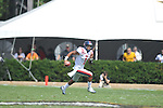 Ole Miss quarterback Randall Mackey (1) runs in Nashville, Tenn. on Saturday, September 17, 2011. Vanderbilt won 30-7..