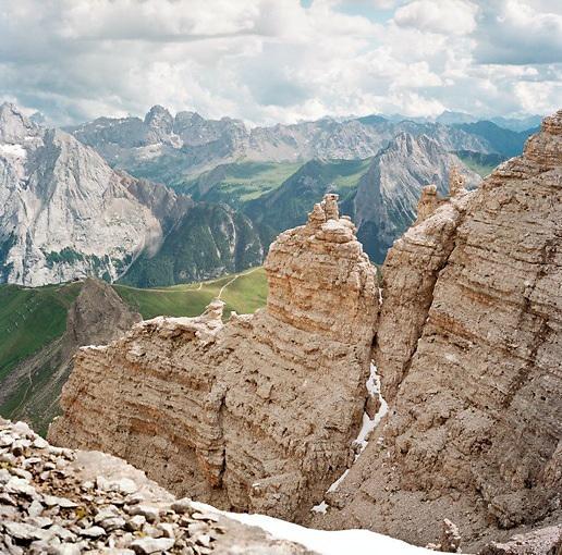 Passo Pordoi, Italian Dolomites (Alps)