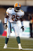 Quincy Coleman Edmonton Eskimos 2003. Photo copyright Scott Grant.