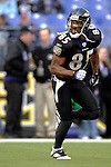 31 December 2006: Baltimore Ravens wide receiver Derrick Mason warms up prior to a game against the Buffalo Bills at M&amp;T Bank Stadium in Baltimore, Maryland. The Ravens defeated the Bills 19-7. Mandatory Photo Credit: Ed Wolfstein Photo.<br />