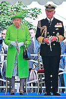 Queen Elizabeth II, Prince Charles & Camilla during 70th D-Day Commemorations in Bayeux - France