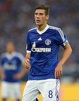 FUSSBALL   1. BUNDESLIGA   SAISON 2013/2014   1. SPIELTAG FC Schalke 04 - Hamburger SV          11.08.2013 Leon Goretzka (FC Schalke 04)
