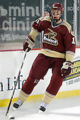 Corey Hale (Norwich - 11) - The Norwich University Cadets defeated the Babson College Beavers 4-1 on Friday, January 13, 2011, at Fenway Park in Boston, Massachusetts.