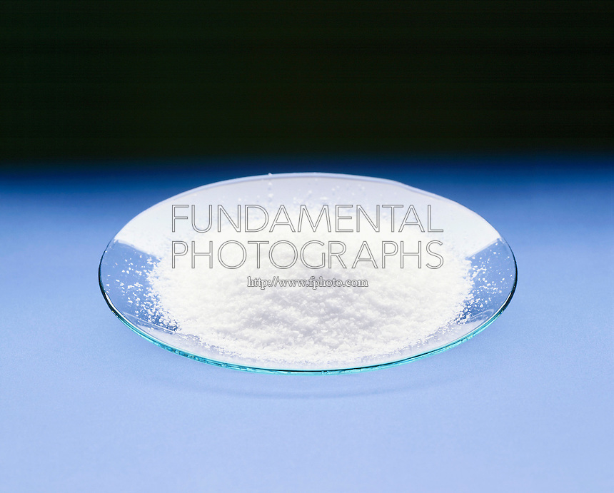 SODIUM CHLORIDE CRYSTALS- NaCl (TABLE SALT)<br /> In A Watch Glass