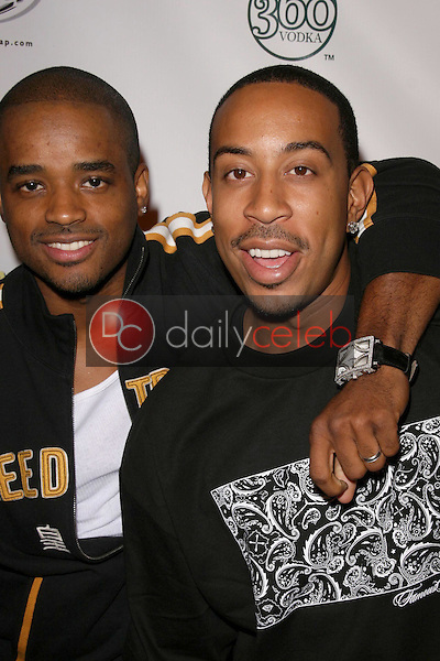 Larenz Tate and Ludacris<br />at National Lampoon's 'The Great American Fantasy'. Playboy Mansion, Holmby Hills, CA. 09-06-08<br />Dave Edwards/DailyCeleb.com 818-249-4998