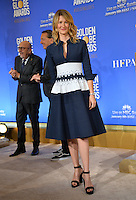 Actress Laura Dern at the nominations announcement for the 74th Golden Globe Awards at the Beverly Hilton Hotel, Beverly Hills, CA.<br /> December 12, 2016<br /> Picture: Paul Smith/Featureflash/SilverHub 0208 004 5359/ 07711 972644 Editors@silverhubmedia.com